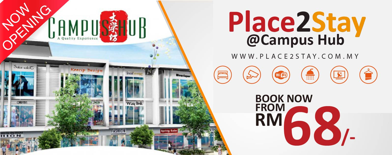 Place2Stay@Campus Hub