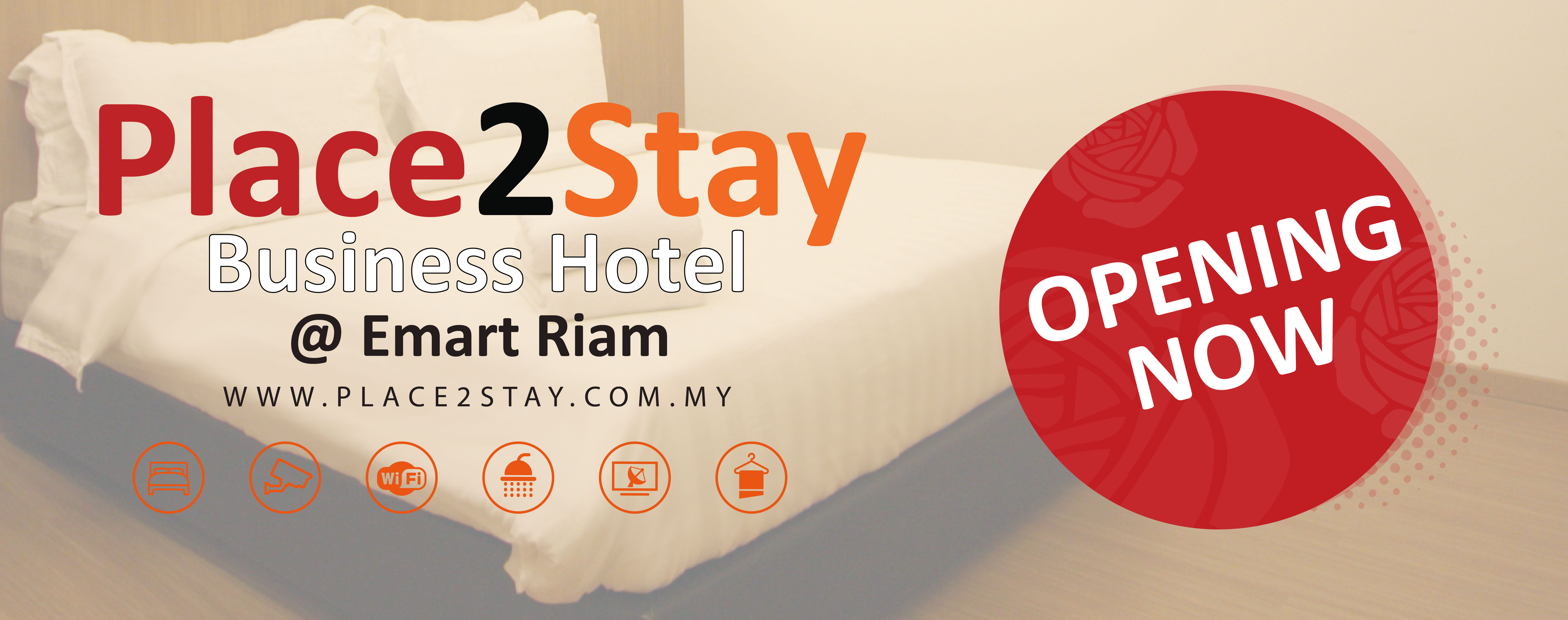 Place2Stay Business Hotel @ Emart Riam